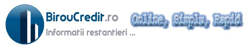 Cerere online biroul de credit